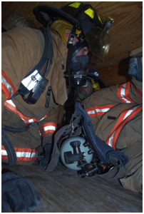 Confined Space Training and Firefighter SCBA Maze